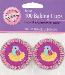 Бумажные мини формы для кексов, капкейков, маффинов