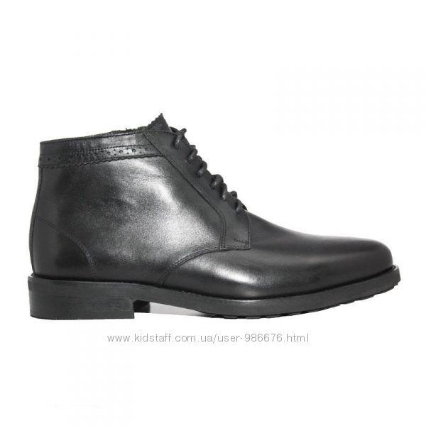 Зимові класичні черевики шкіра 2575-1 84bb37635f7cc