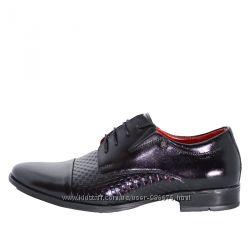 Вишукані туфлі на шнурівці з декоративним узором Nord Plus 414