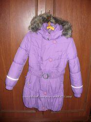 Зимнее пальто Lenne для девочки р. 128