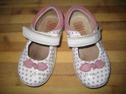Кожаные туфельки Clarcs 20 размер.