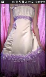 Праздничное платье на 152, 158, 164 см.