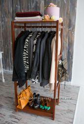 Напольная стойка для одежды из дерева Сплит