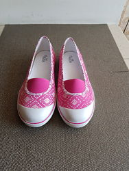Розовые балетки M&S, стелька 24, 5-25 см