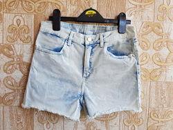 Выбеленые шорты H&M, 158-164 см.
