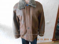 Зимова шкіряна куртка -дублянка afe52748983ff