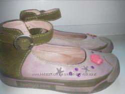 Кожаные туфли р. 27 Tekilou