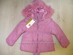 Зимняя куртка с натуральным мехом magic crane на 6 лет