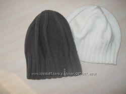 шапка коричневая подарок белая шапка