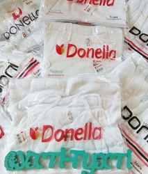 Белые майки Донелла, Турция, маечки , нижнее белье