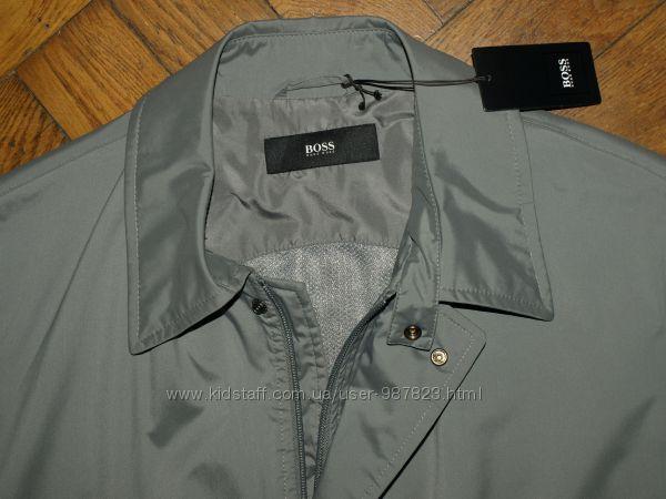 Мужская куртка плащ дождевик Hugo Boss raincoat, water repellent, 50-52