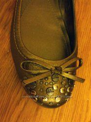 Женские кожаные туфли балетки Calvin Klein, 39