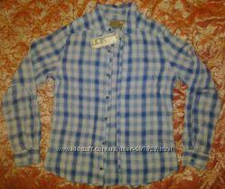 Мужская льняная рубашка Vicarious by Nature, made in USA, разм 48-50