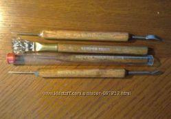 Стеки инструменты Lace Kemper Tool, USA, для глины, пластилина и др.