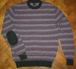 Мужской свитер Hugo Boss, шерстьшелк