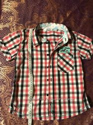 Стильная рубашка 2-4 года