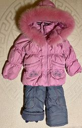 Зимний комбинезон КІКО 3,4,5 лет девочке