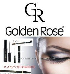 Golden Rose - подводки, карандаши для бровей и глаз разные в наличии.