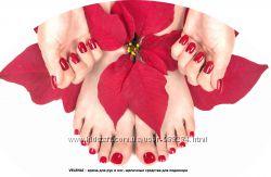 Крем для рук и ног, щелочные средства для педикюра, антисептики и жидк мыло