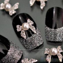 Декор и украшения для ногтей - втирки, стразы, жемчуг и многое другое здесь