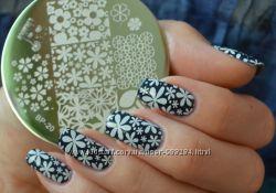 Стемпинг для дизайна ногтей - недорогие штампы и платы больше 200 вариантов