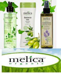 Органические шампуни, бальзамы и маски Melica Organic, а также чистка лица.