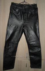 штаны кожаные пояс 74см