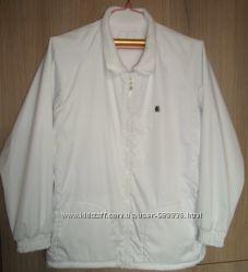 куртка ветровка двухсторонняя флисовая размер L-XL