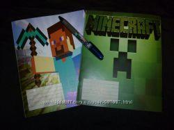Набор тетрадок Minecraft