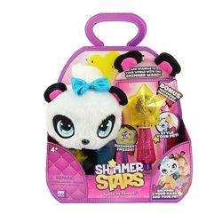 Щенок shimmers stars, котёнок, панда, единорог, блестящие игрушки