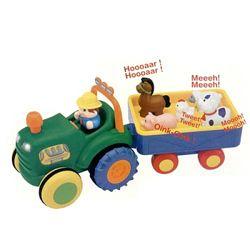 Трактор фермера  kiddieland, киддиленд, самолёт, паровоз, little tikes