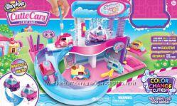 Распродажа  shopkins машинка, автомойка меняем цвет cutie cars оригинал