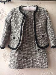 Комплект Chicco 104см на 3-4 года Пиджак и платье