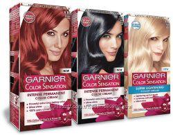 Краска для волос Garnier Color Sensation. палитра цветов