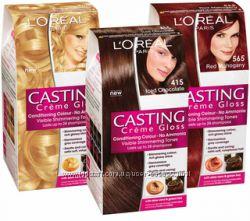 Краски для волос Loreal Casting Creme Gloss. Палитра