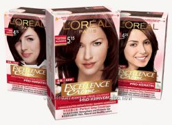 Краска для волос LOreal Excellence Creme. Палитра цветов