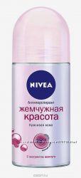 NIVEA дезодорант ролик для женщин жемчужная красота и двойной эффект