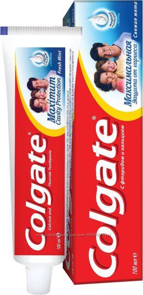 Зубные пасты Colgate для всех типов зубов