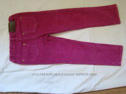 Вельветовые брюки для девочки. F&F на 4-5 лет.