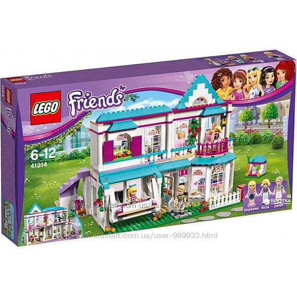 41314 LEGO Friends Дом Стефани  Оригинал