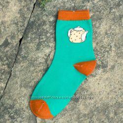 Цветные женские носки