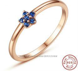 Серебряное кольцо в позолоте