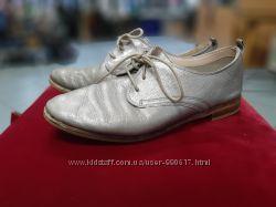 Кожаные туфли Clarks. Размер 39