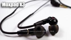 Moxpad X3  бюджетные наушники со сменным кабелем