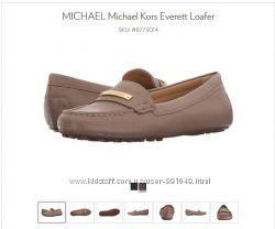 Кожаные мокасины MICHAEL Michael Kors, р. 10