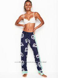 Сатиновые штаны Victoria&acutes Secret, пижама XS, S