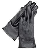 Перчатки кожа РU сенсорные пальчики