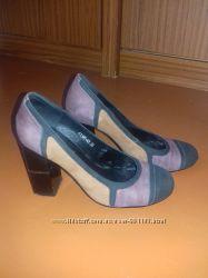 женские туфли 38р. , из нубука
