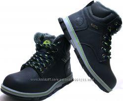 Детские зимние ботинки для мальчика Badoxx Польша размеры 32-37 , 2 цвета