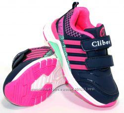 dc046934 Детские кроссовки для девочки Clibee Польша размеры 26-31, 3 расцветки